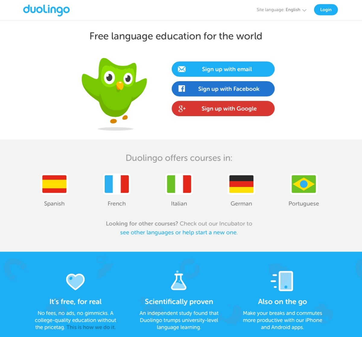 Learning a Foreign Language With Duolingo