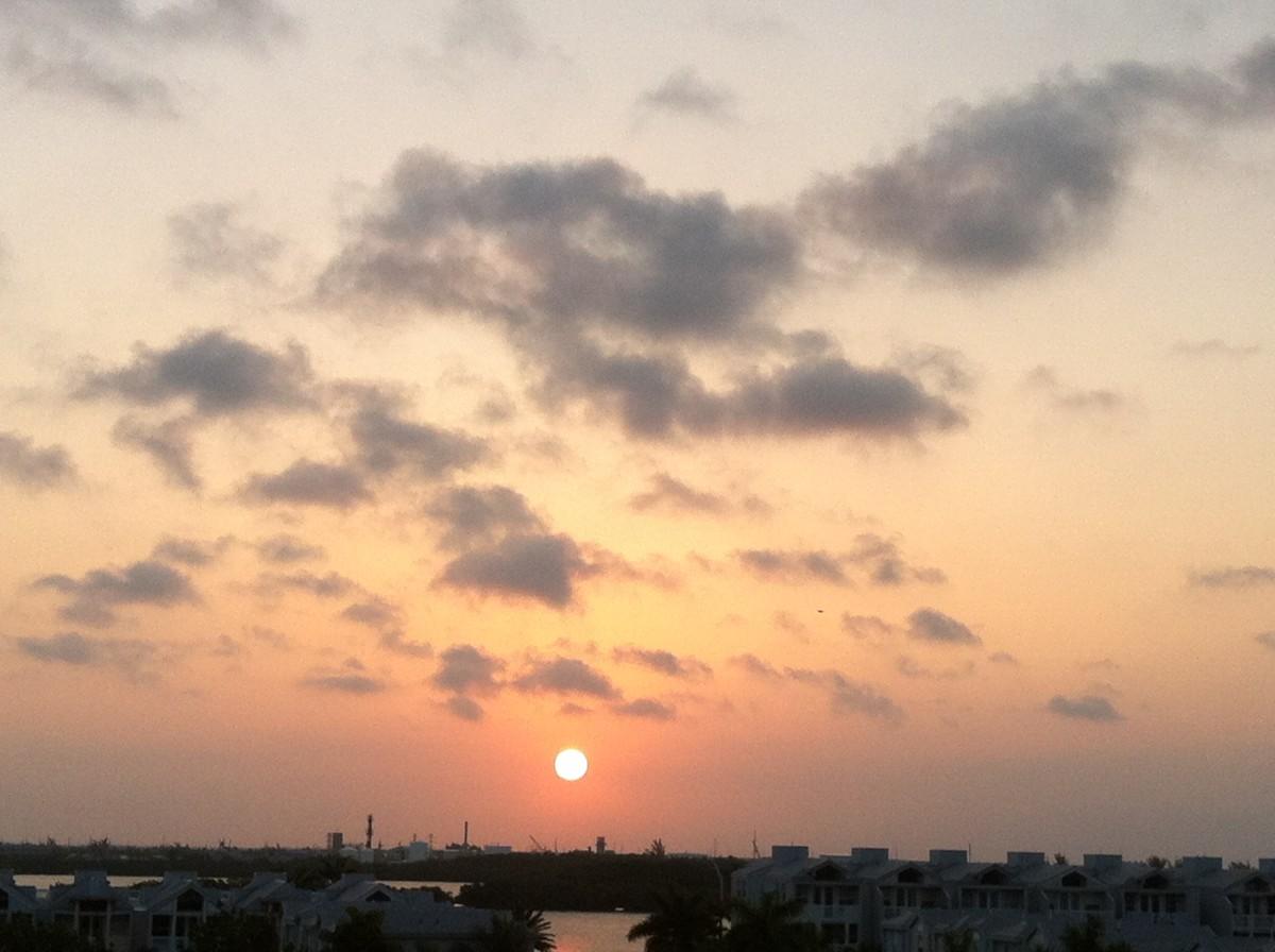 Sunrise in Key West, Florida
