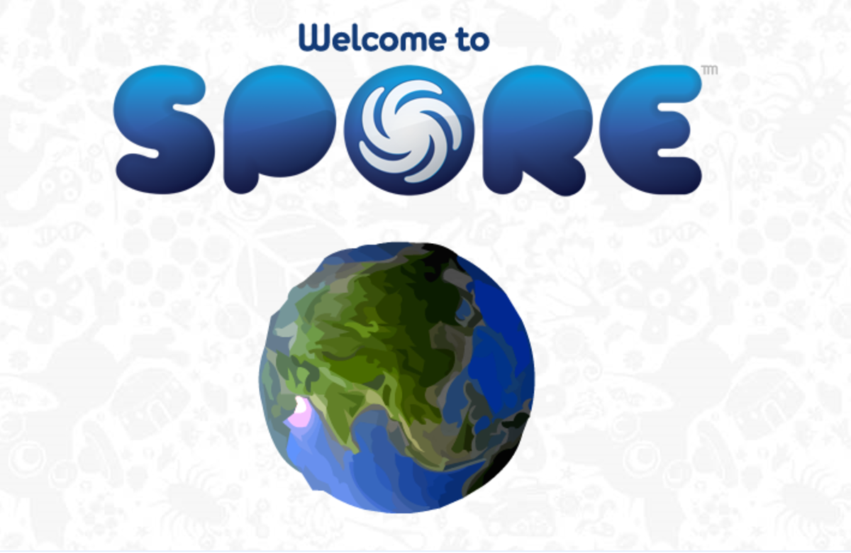 I purchased the main game and the creature creator (too fun). I installed SPORE on my pc, it takes about 4G space. An awesome, intense and riveting submersion into big bang based ideals.