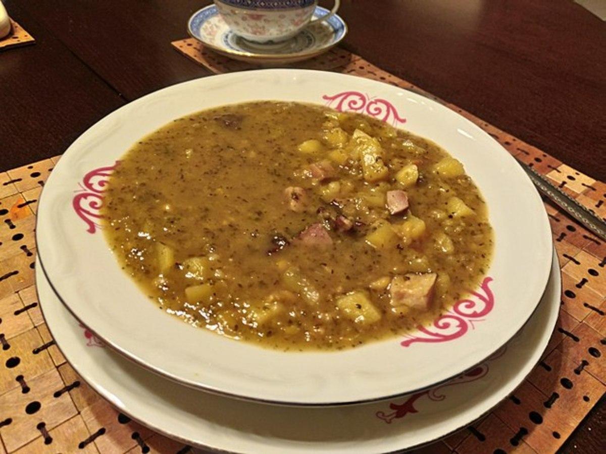 Blackeye peas are tasty in winter or summer.