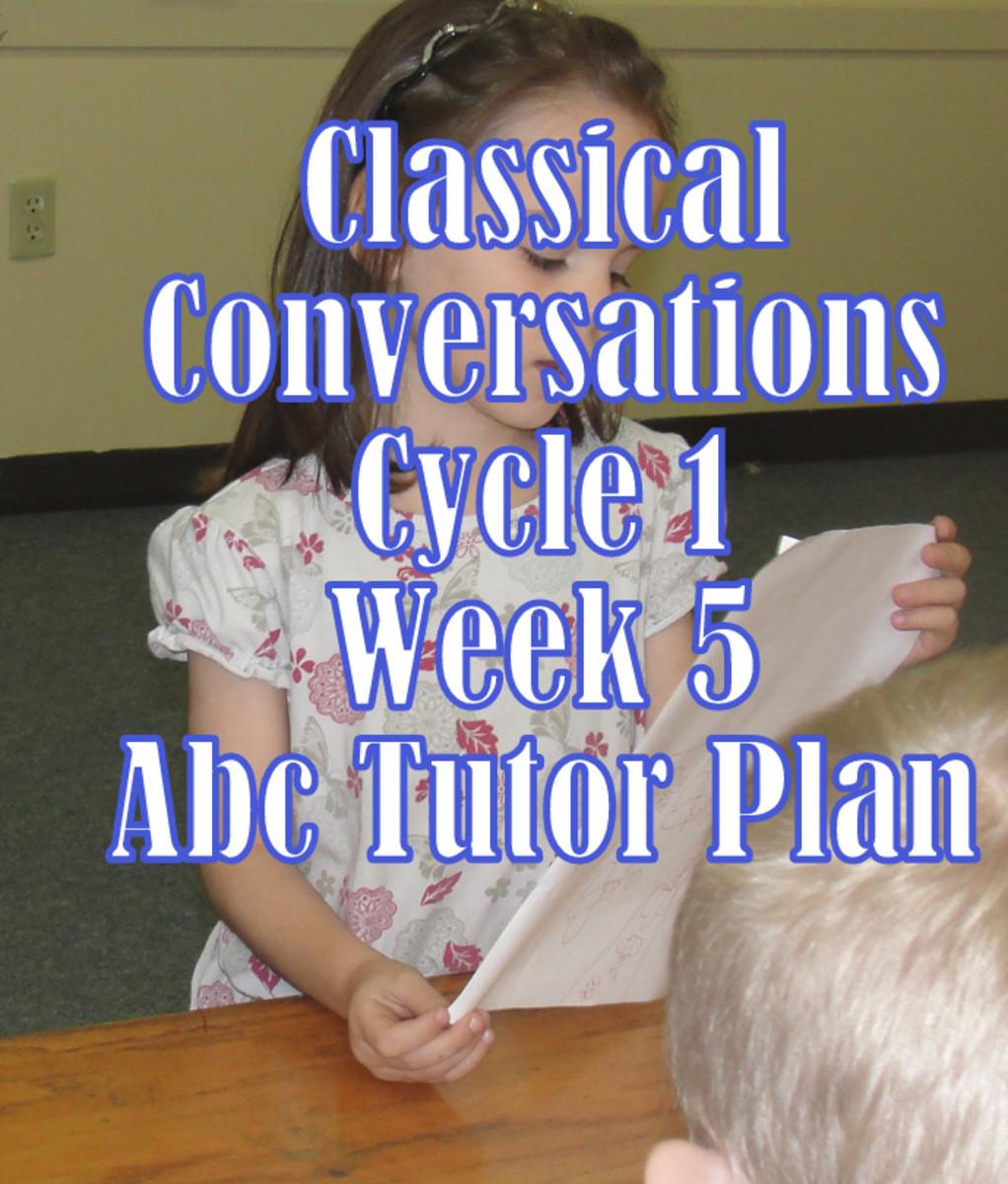 CC Cycle 1 Week 5 Plan for Abecedarian Tutors