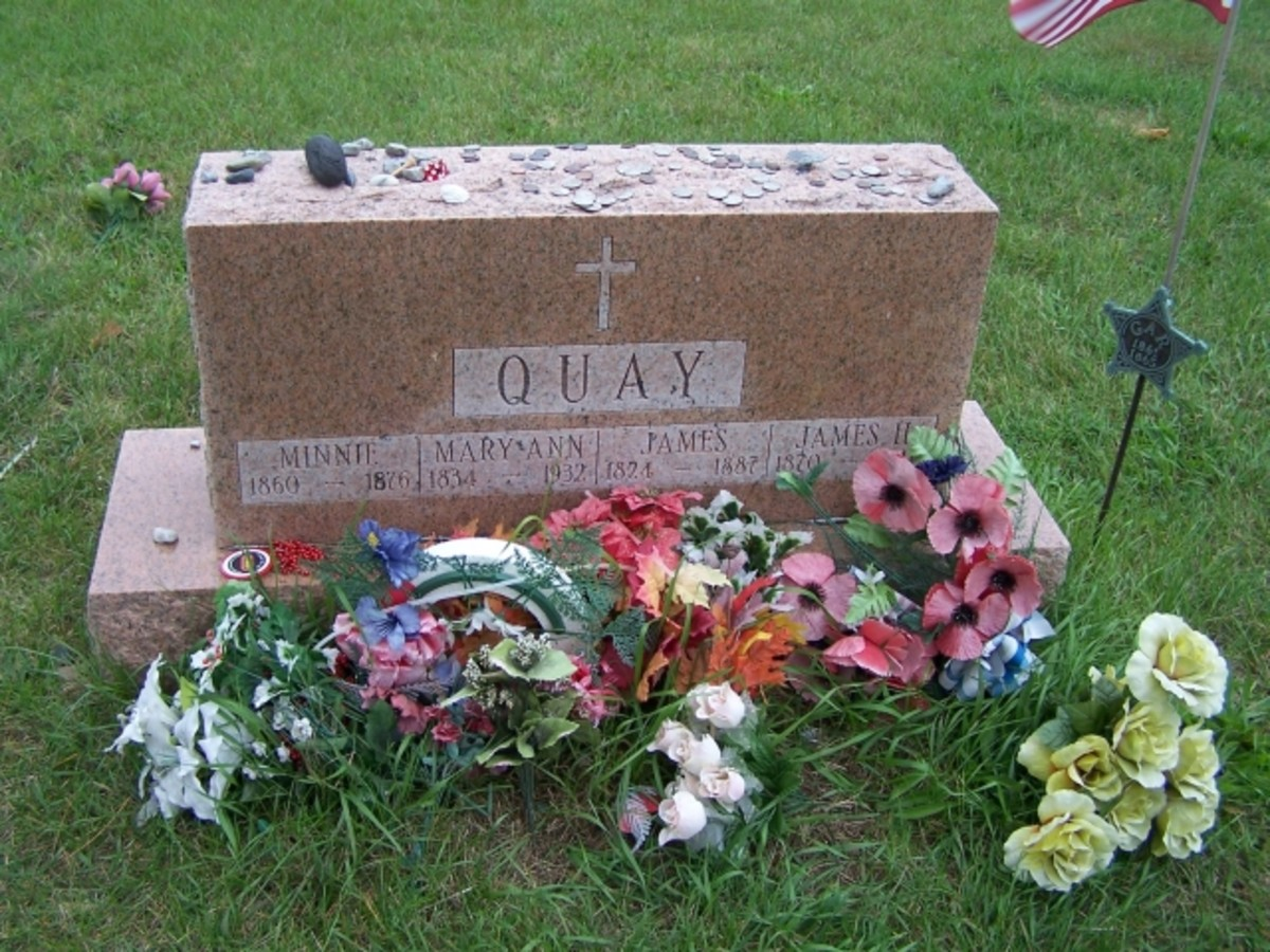 Minnie Quay's Grave