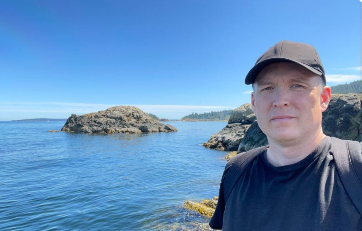 A photo of myself at Piper's Lagoon Park on the north side of Nanaimo, British Columbia.