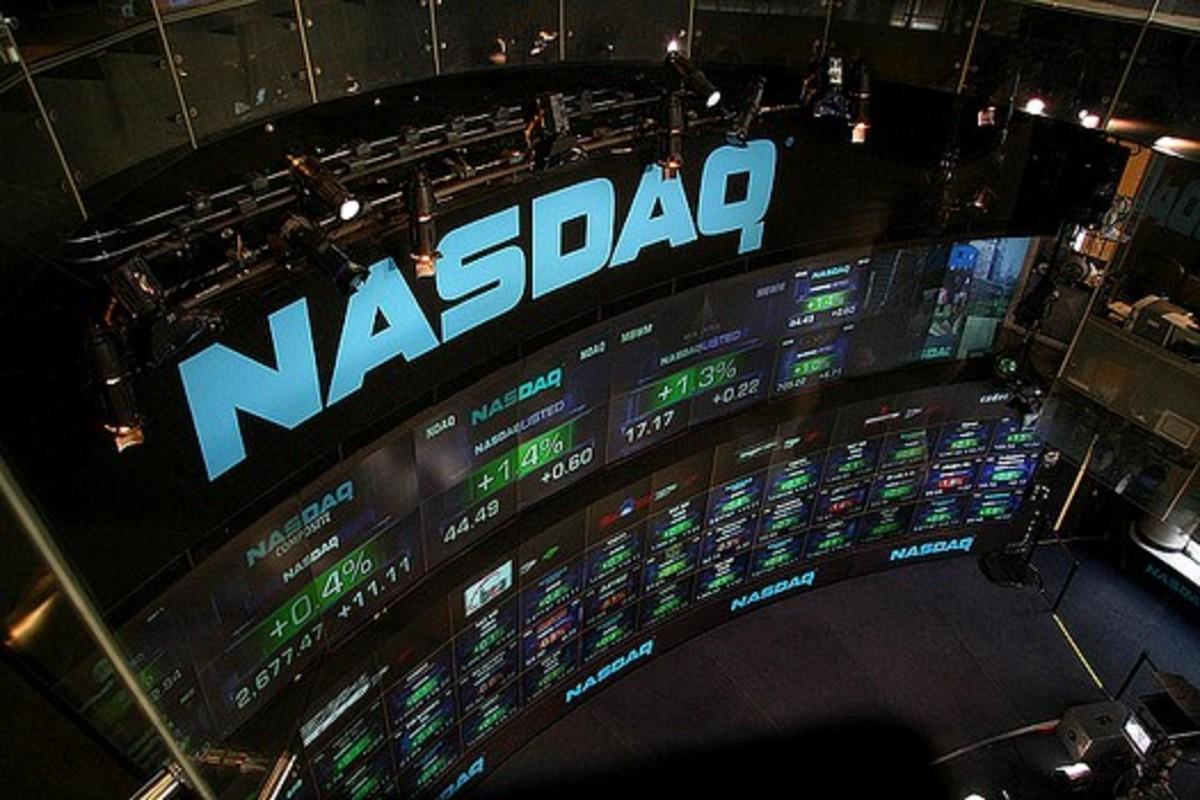 NASDAQ trading floor