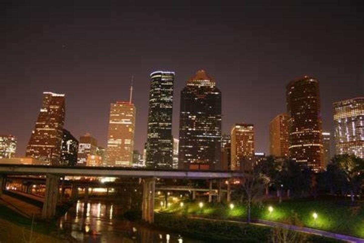 Downtown Houston Skyline Night.JPG - Wikipedia