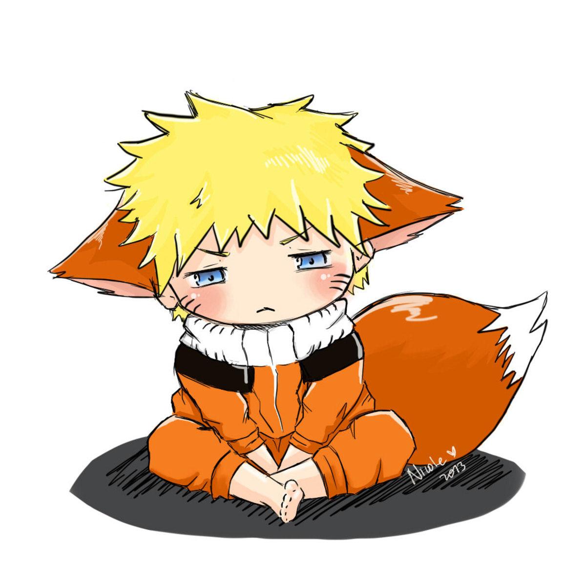 Naruto little fox