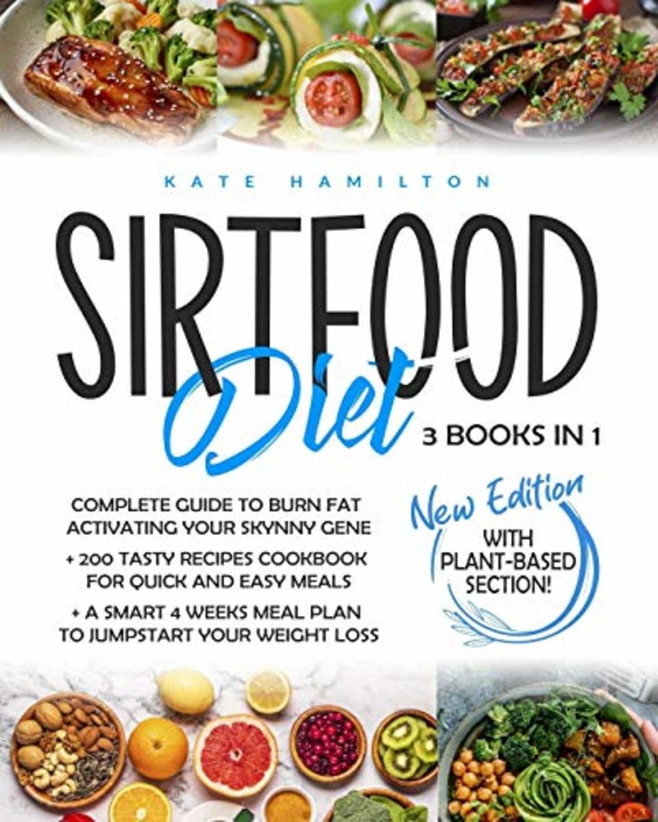 The Sirtfood Diet 3-in-1 guide to activate the 'skinny genes' with a four week plan to kickstart your journey to losing weight. With over 200 delicious recipes included, you will not run of ideas for your next meal