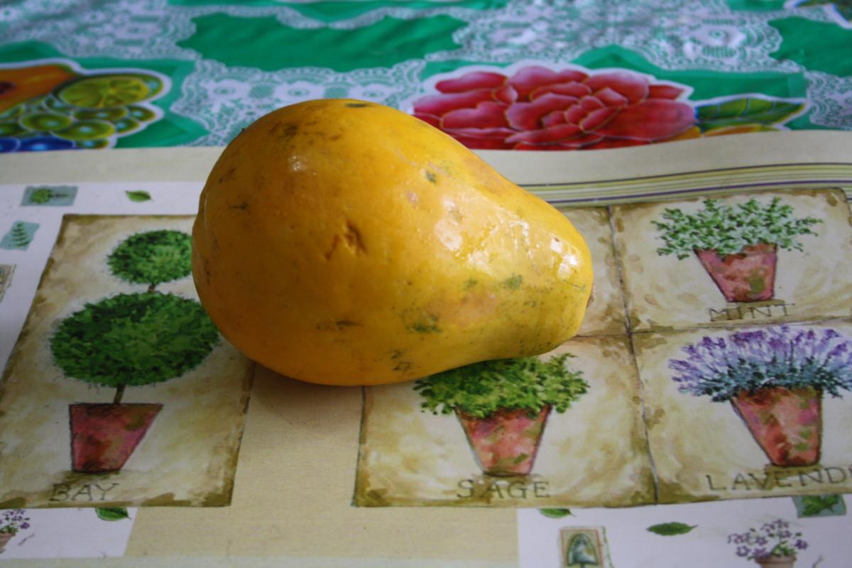 Small Ripe Papaya
