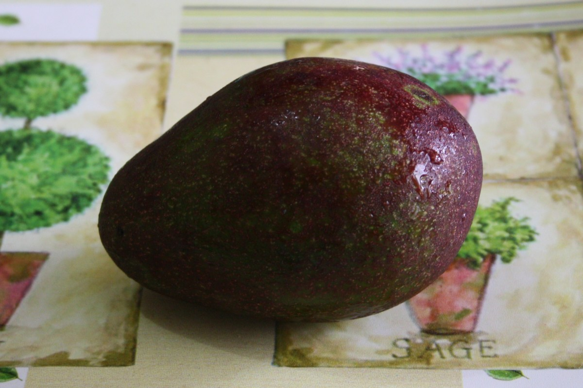 Ripe avocado.