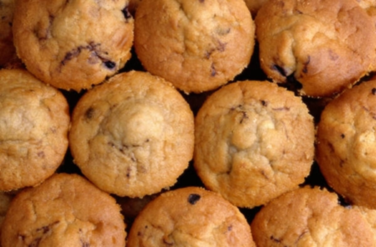 Healthier & Awesome: Altered Blueberry Muffins Recipe