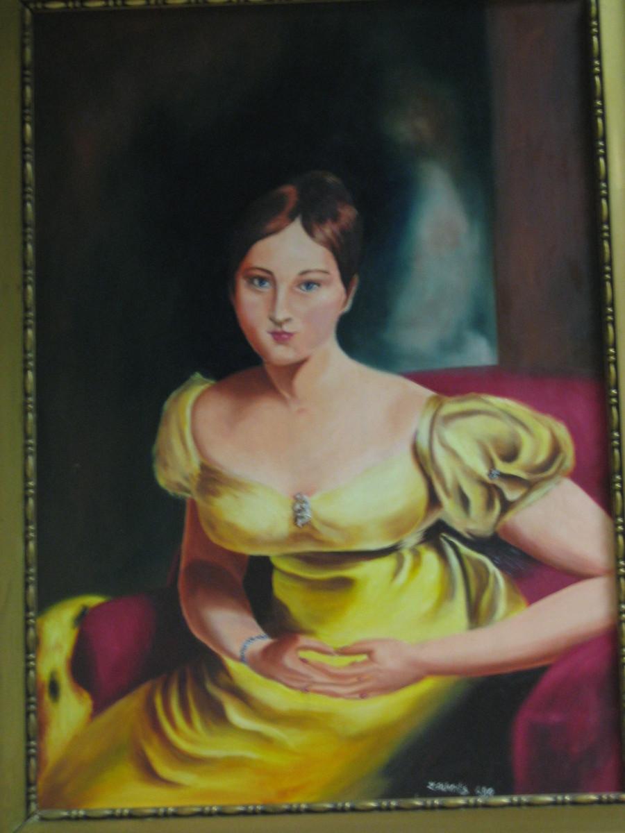 A Lady in Oil by Lothar Alberts
