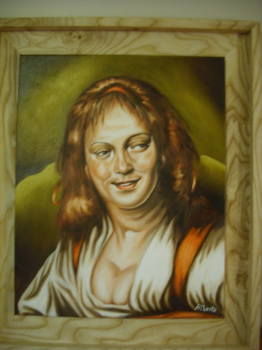A Gypsy Woman by L. Alberts
