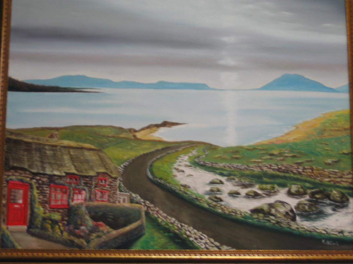 Irish Landscape by Lothar  Alberts