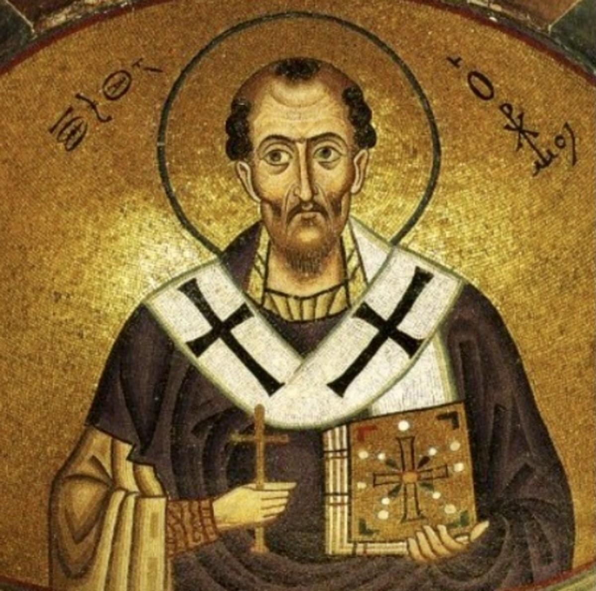 Saint John Chrysostom, Bishop & Doctor of the Church
