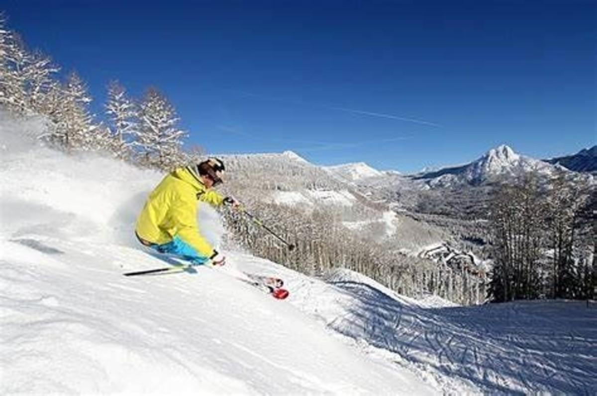 Hit the slopes | Ice climbing, Mountain resort, Dog sledding