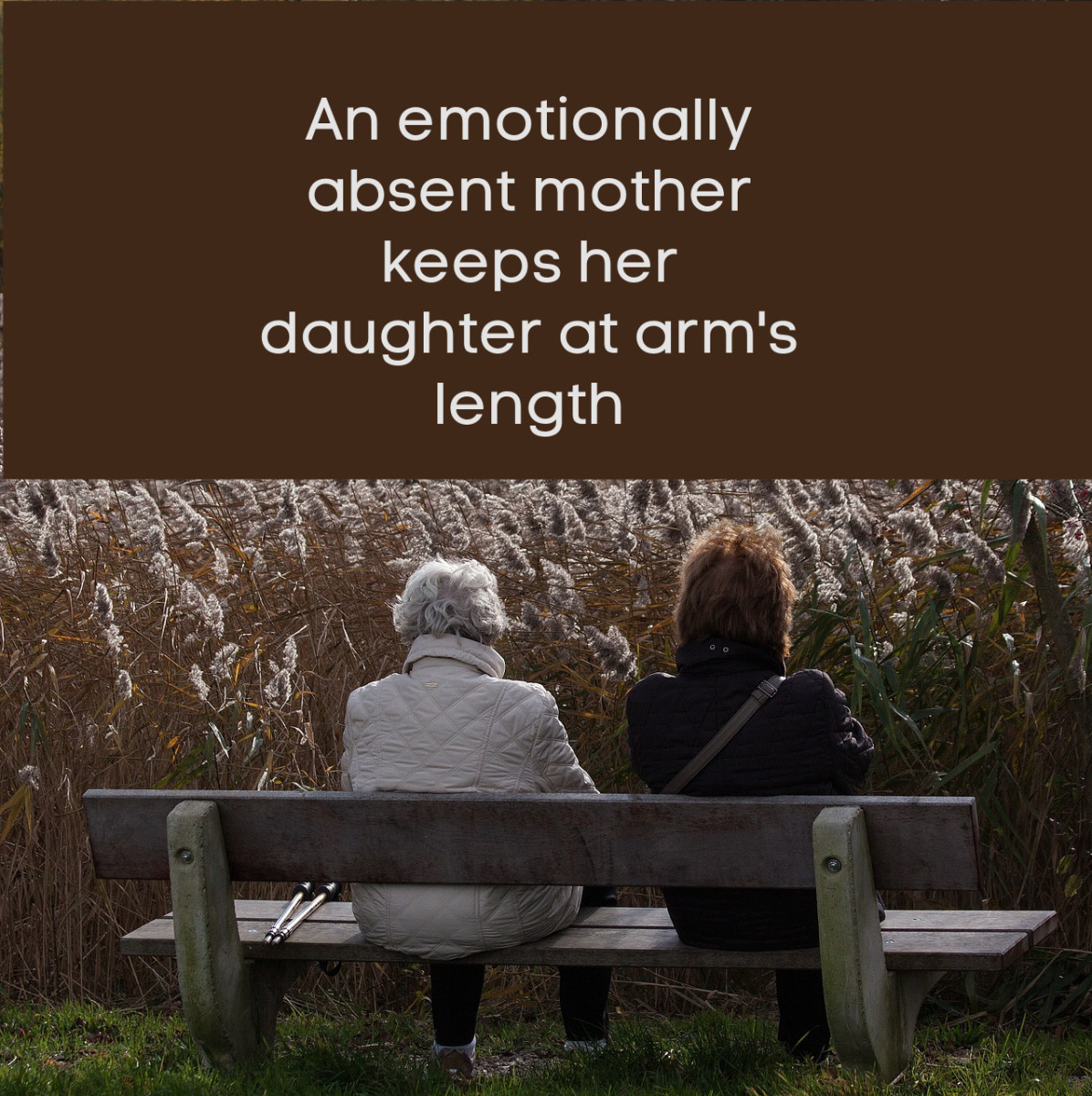 """Once a daughter accepts her mother """"as is,"""" she can practice acceptance and find peace."""