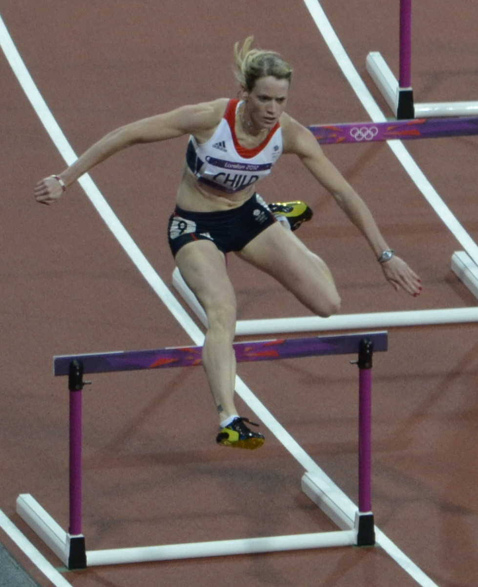 Eilidh Child in the 2012 Summer Olympics