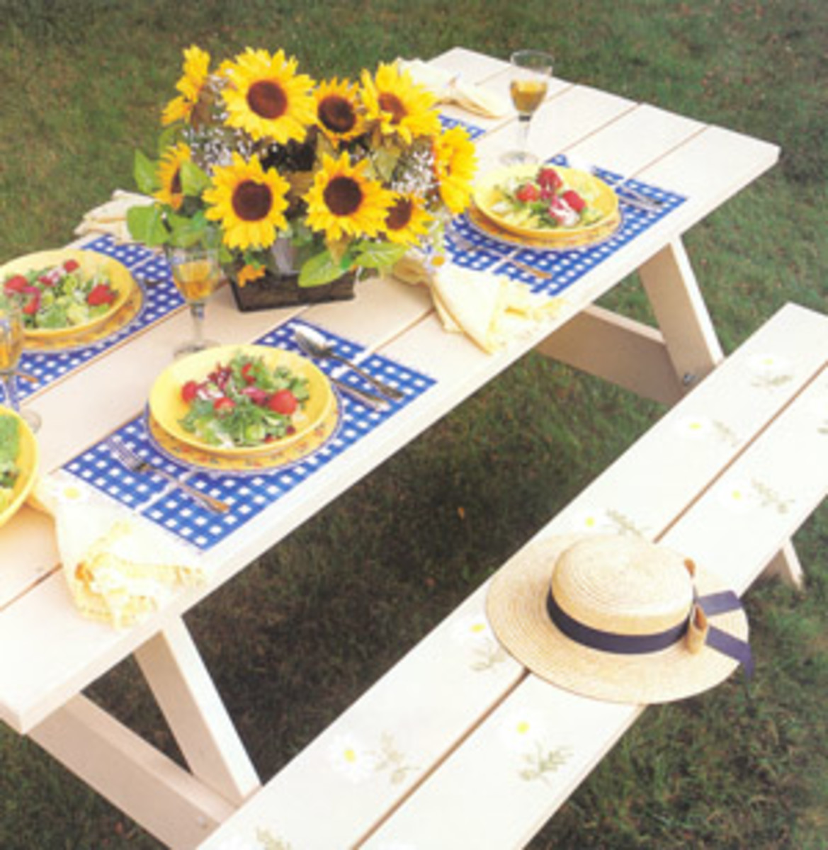 Picnics are perfect for hardboiled eggs and recipes related to them!