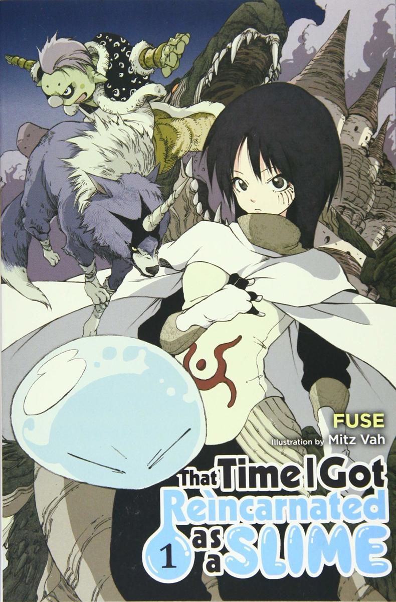 Light Novel Volume 1 Cover Art