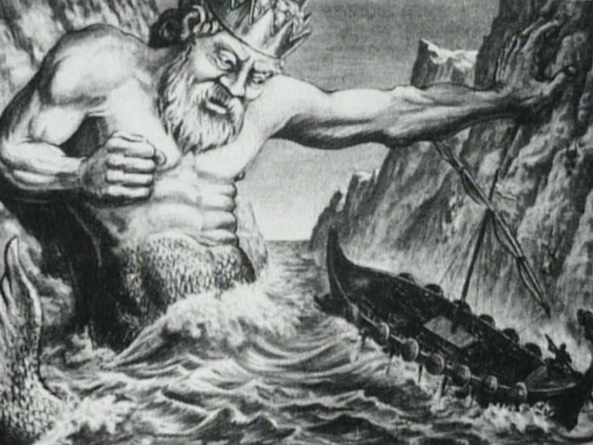 Poseidon - art by Ray Harryhausen