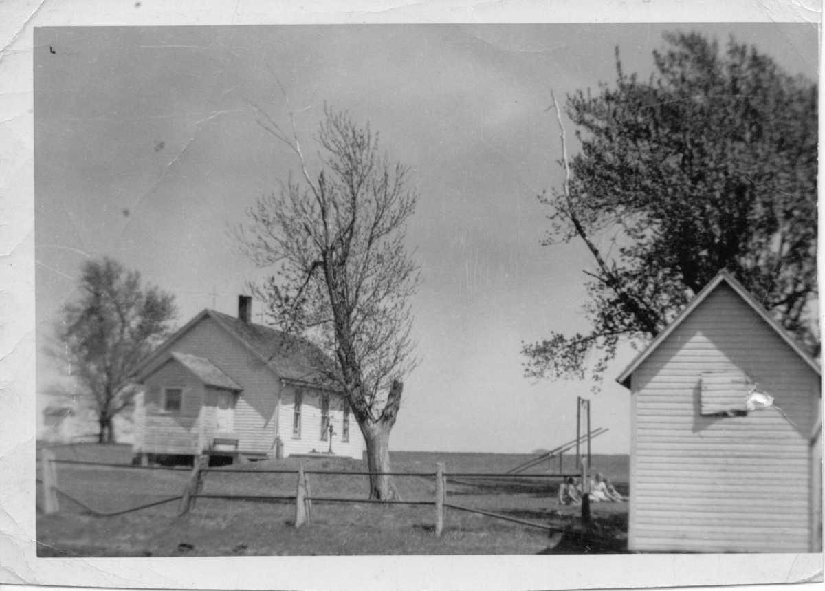 Prairie Belle School in Greenwood County, Kansas.