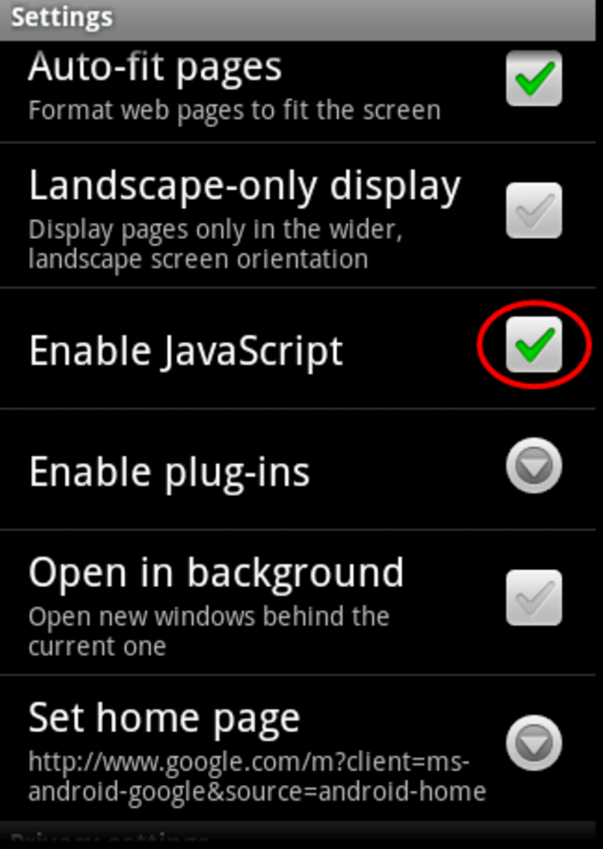 how-to-enable-disable-javascript-on-the-droid-android-phone