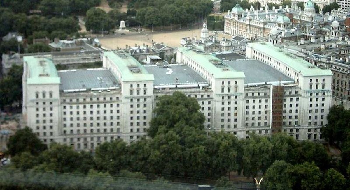 The Prime Minister's command bunker is located beneath the Ministry of Defence in Whitehall, London.