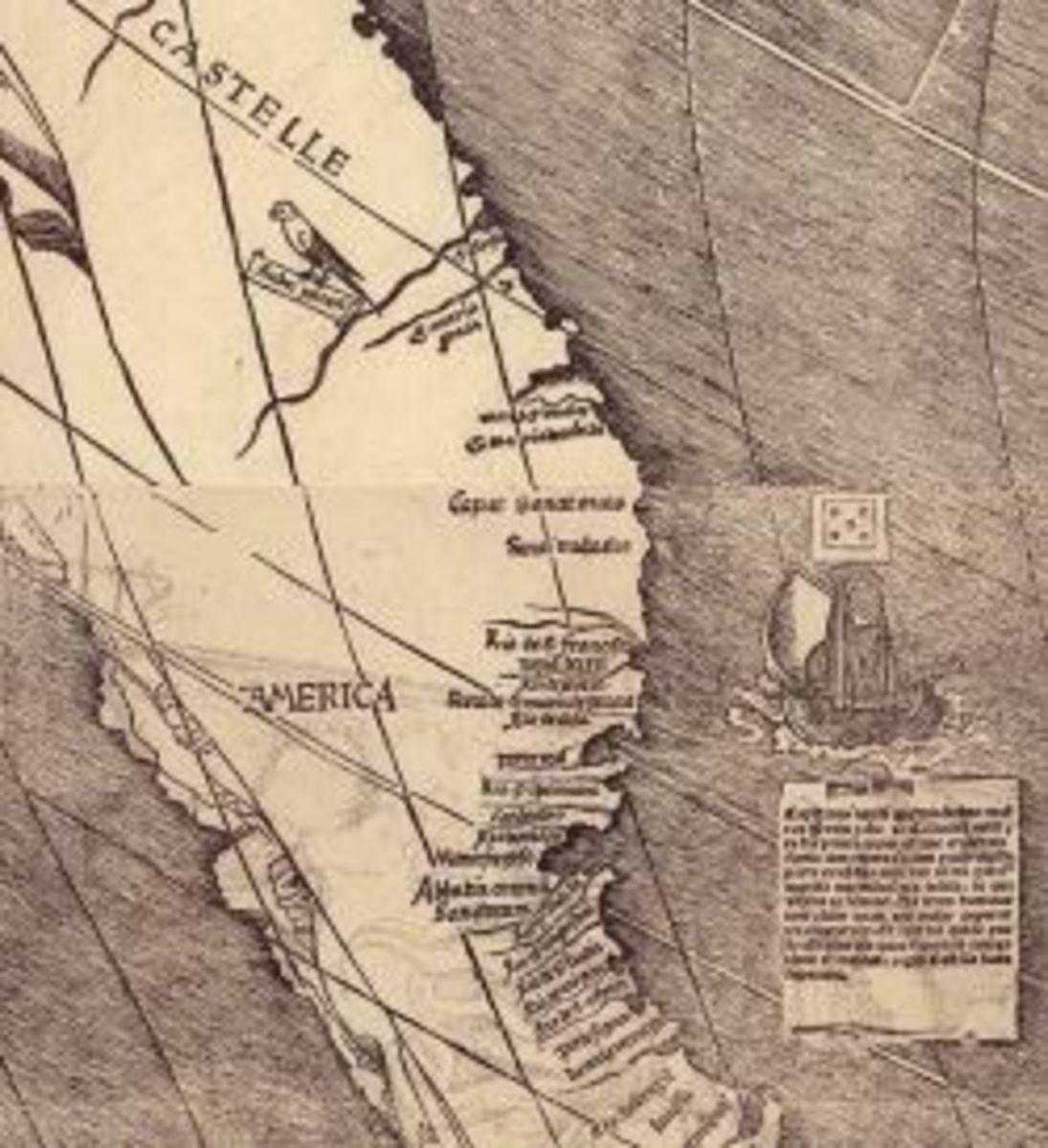 library of congress waldseemuller map