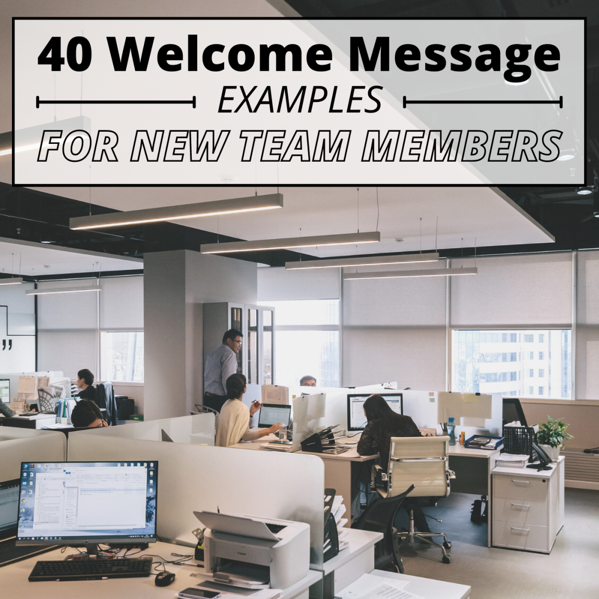 Greeting a new employee with a cheerful onboarding note is a great way to make them feel comfortable and excited about their new role.