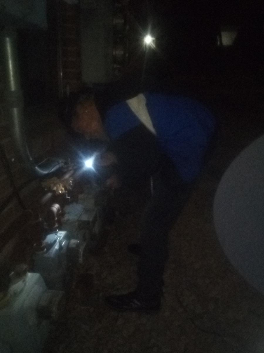 tampering with gas meters