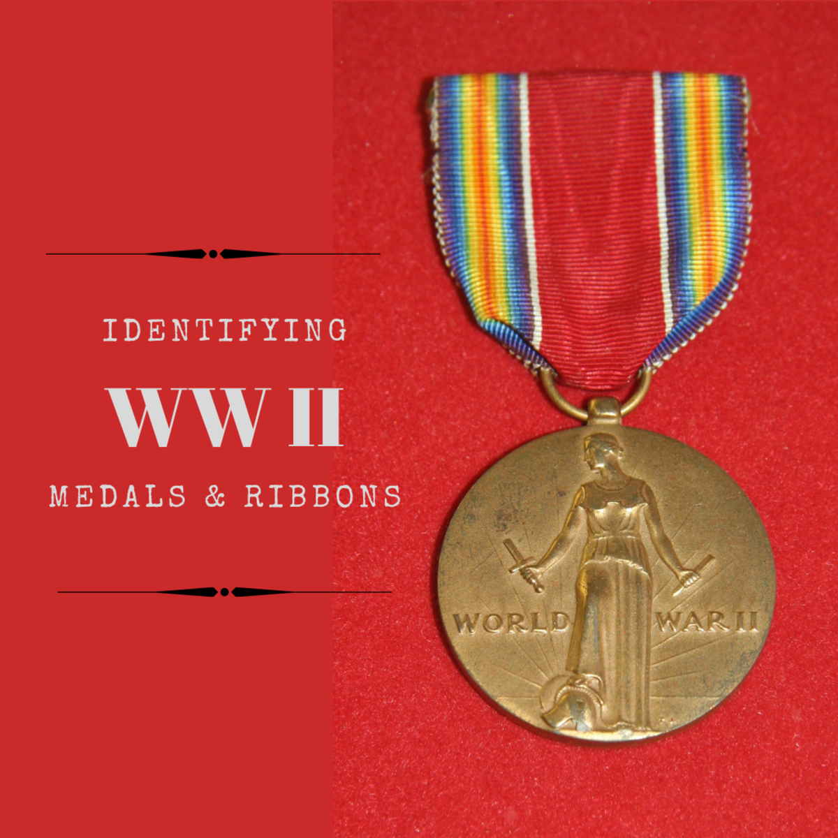 Complete guide to British, American and German World War II Campaign medals, ribbons and clasps