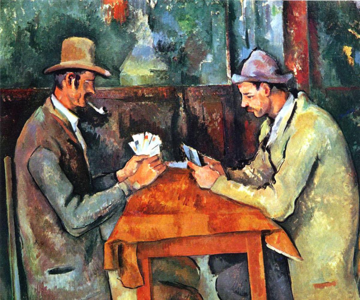 Paul Czanne, Les joueurs de carte