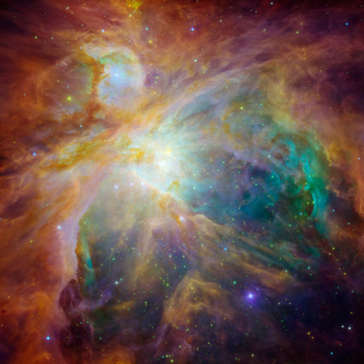Chaos at the Heart of Orion  from NASA