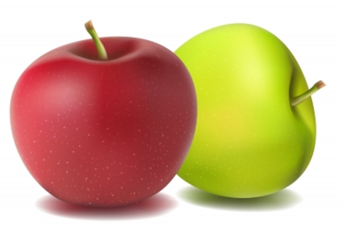 Natural Apples by DigitalArt.