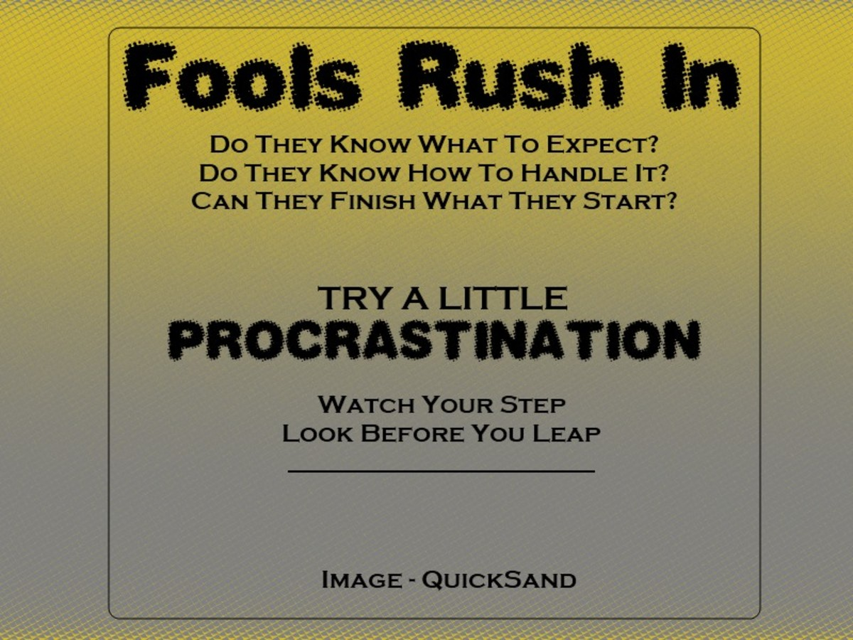 About Procrastination - Urgent Tasks - Less Urgent Tasks - Tips And Views