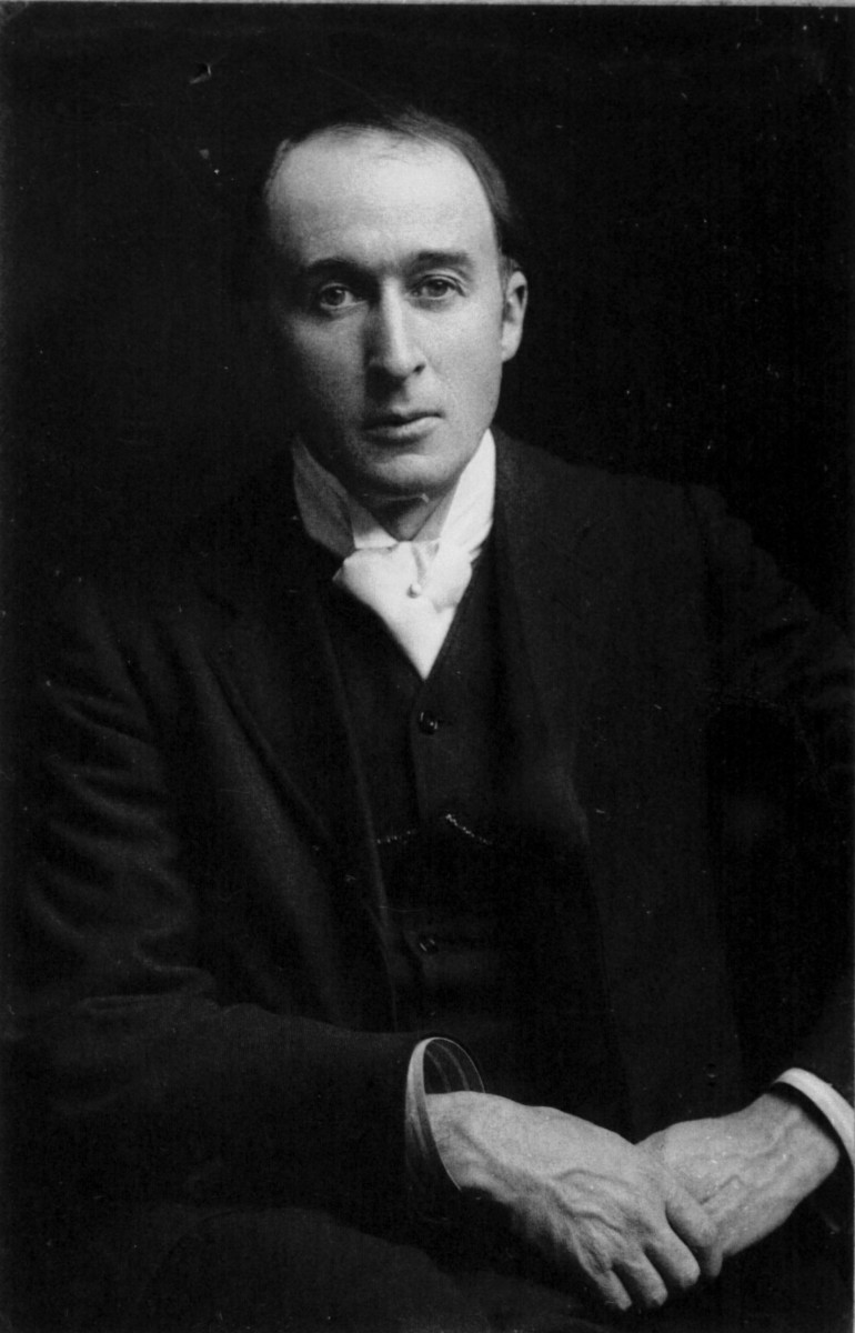 Signed photograph of Delius.