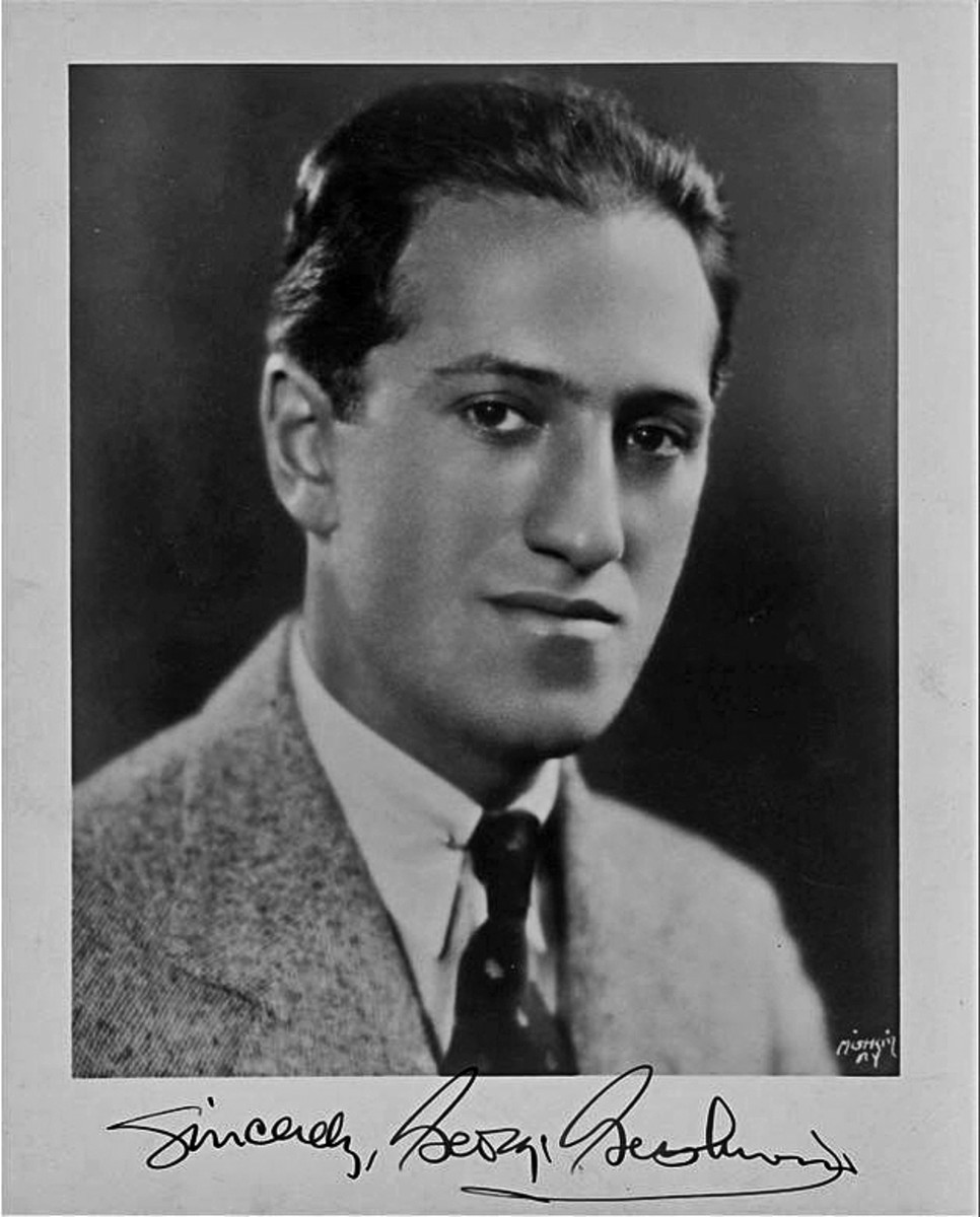 Signed photograph of Gershwin c1935.