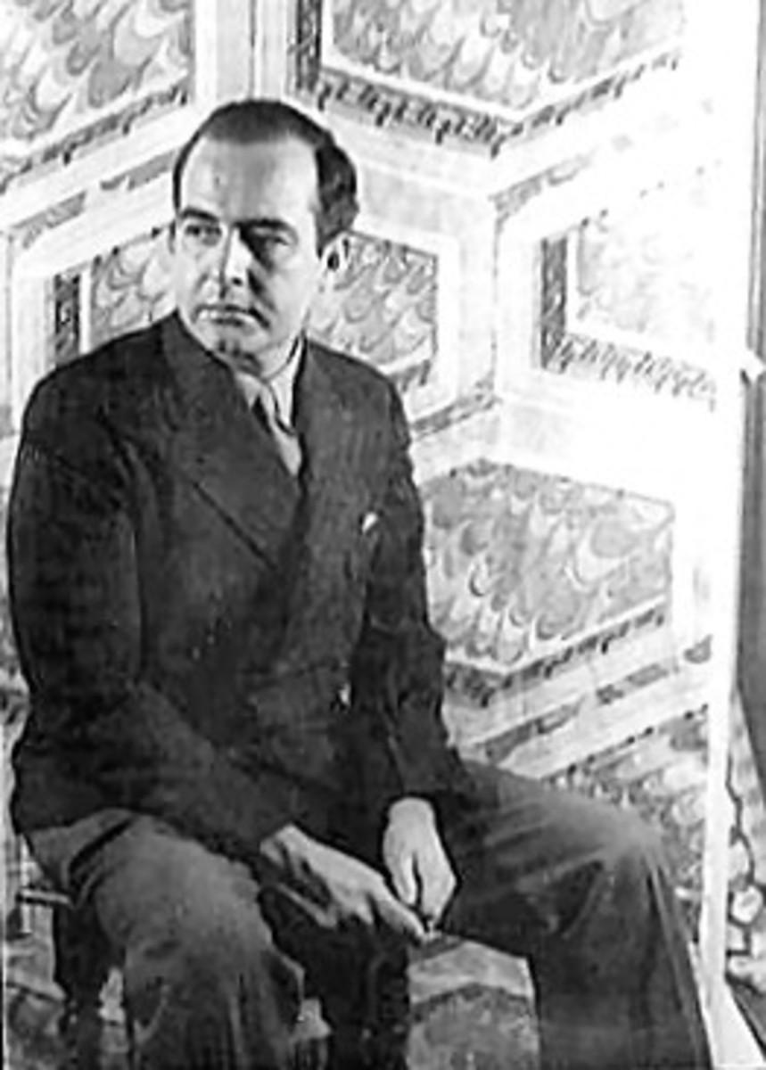 Portrait of Barber in 1944.