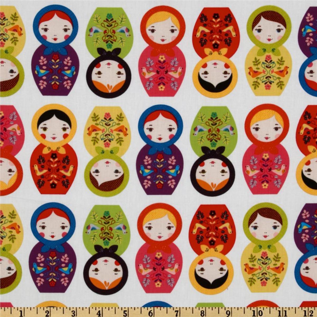 Little Kukla Wooden Dolls print from Amazon.com