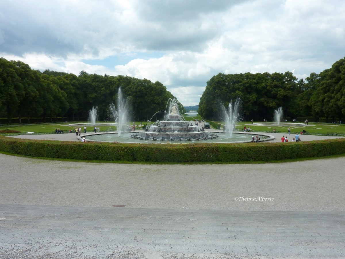 Herrenchiemsee Palace, the Royal Palace of King Ludwig II of Bavaria, Germany
