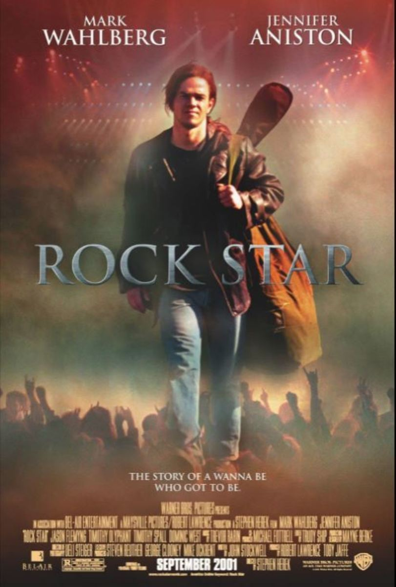 """Rock Star"" film poster"