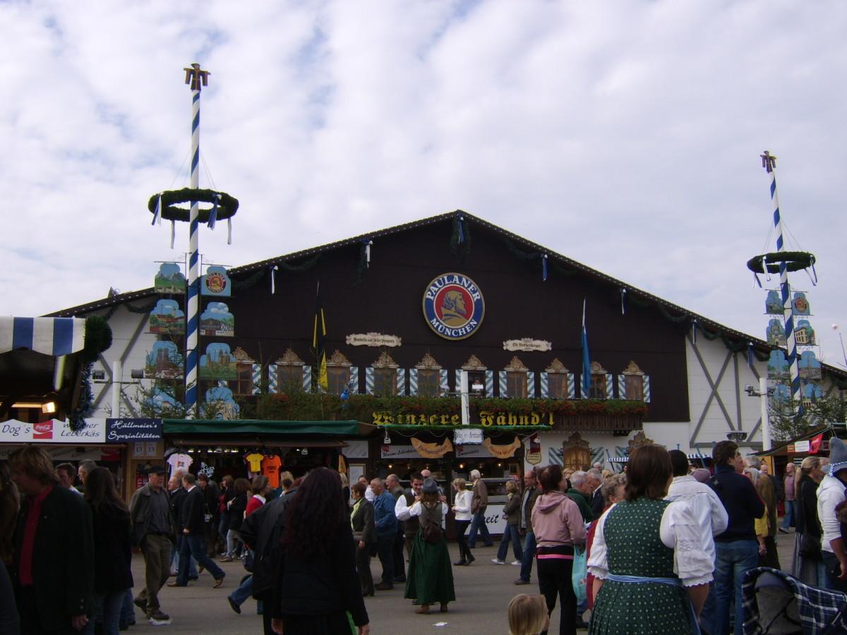 The Paulaner tent