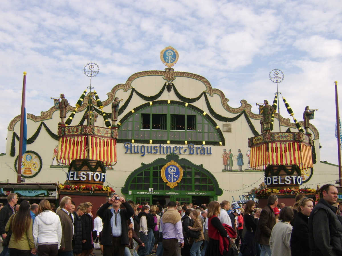 The Augustiner tent