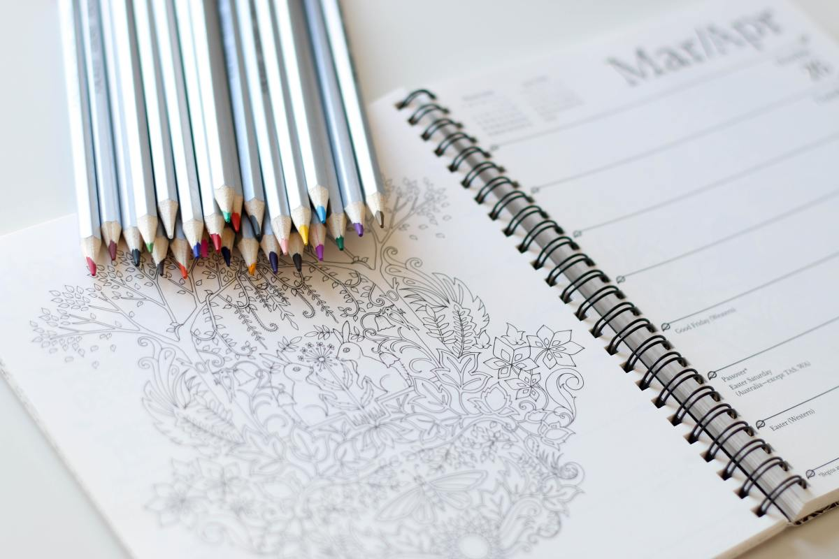 It' s important to keep your stress and anxiety levels as low as possible, and coloring books are one way that you can do so.