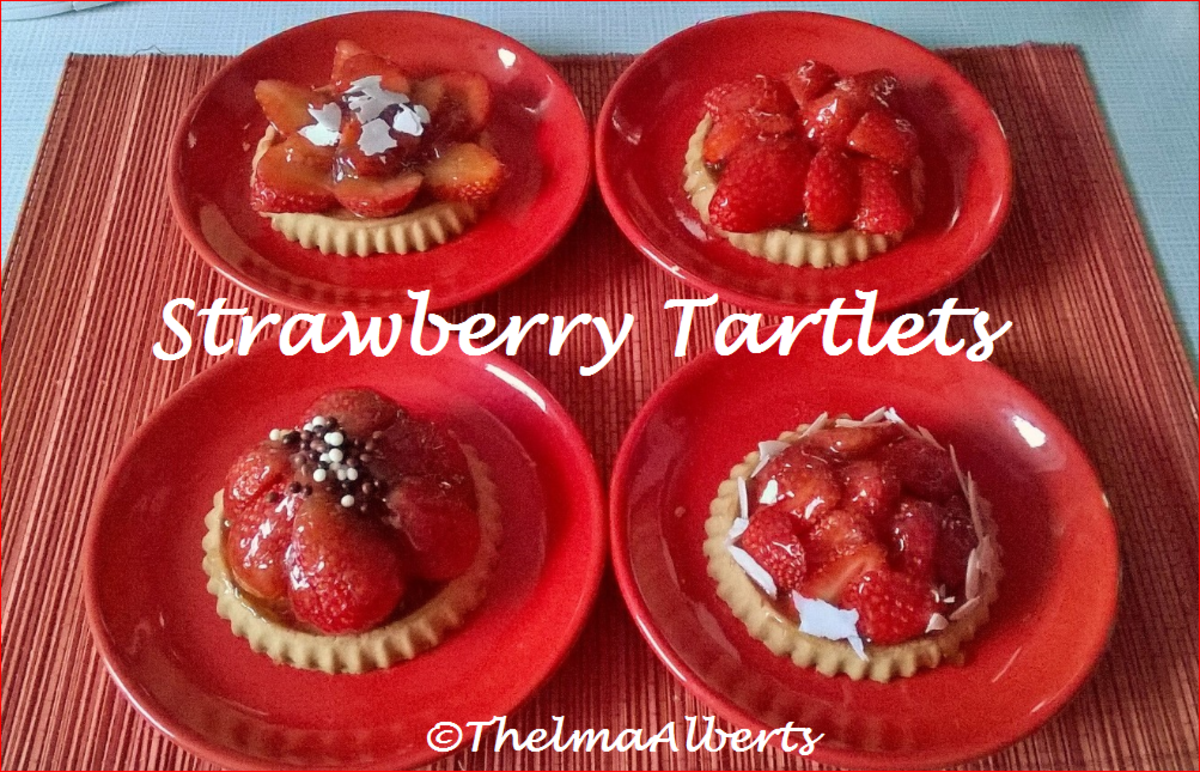 Strawberry Tartlets without baking.