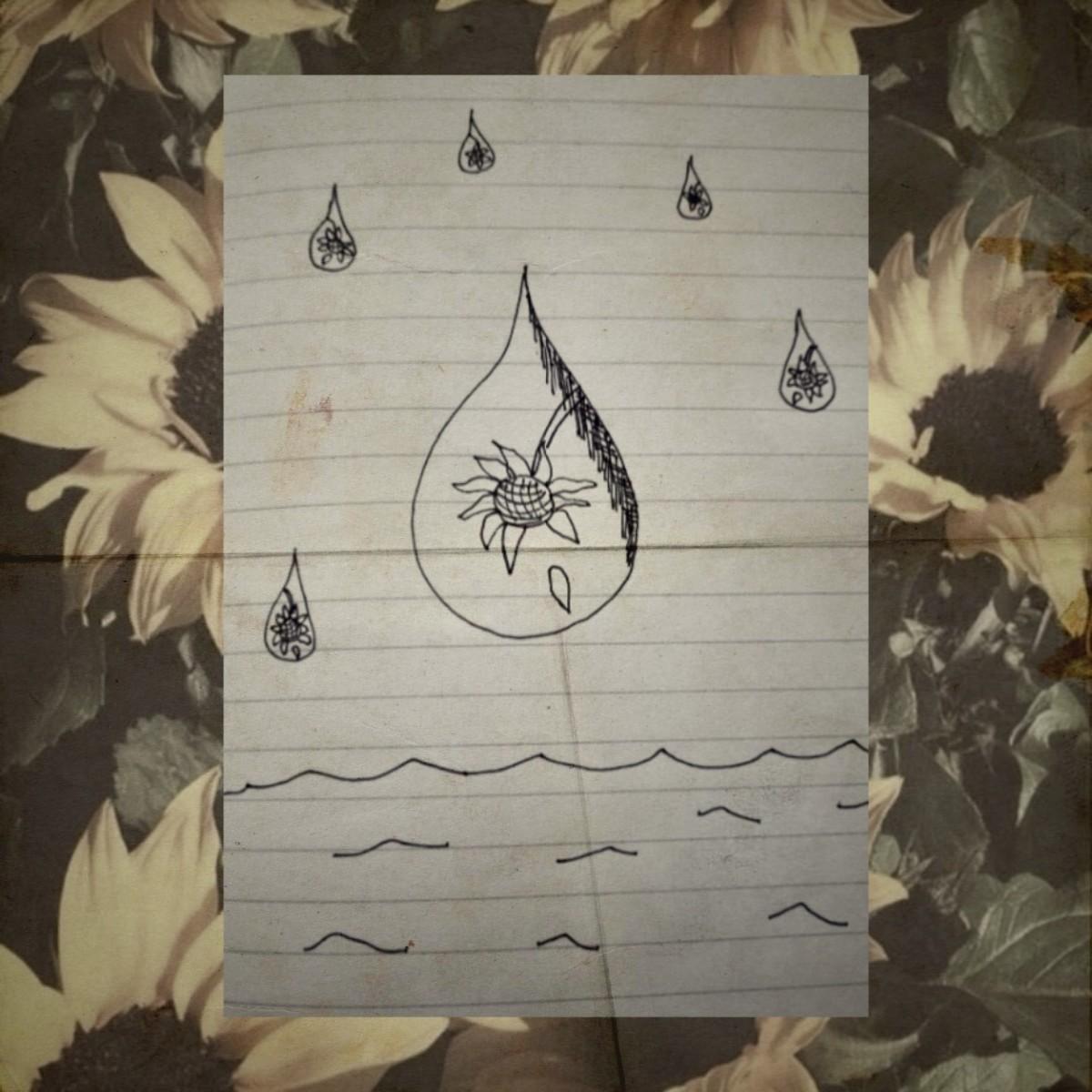 Poem: Sunflower Ghost
