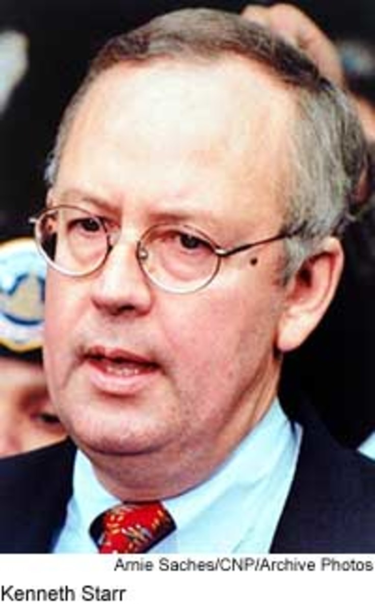 Kenneth Starr's five-year investigation of President Clinton in 1994 included probes of Whitewater, the suicide of Deputy White House Counsel Vince Foster and the Monica Lewinski affair.