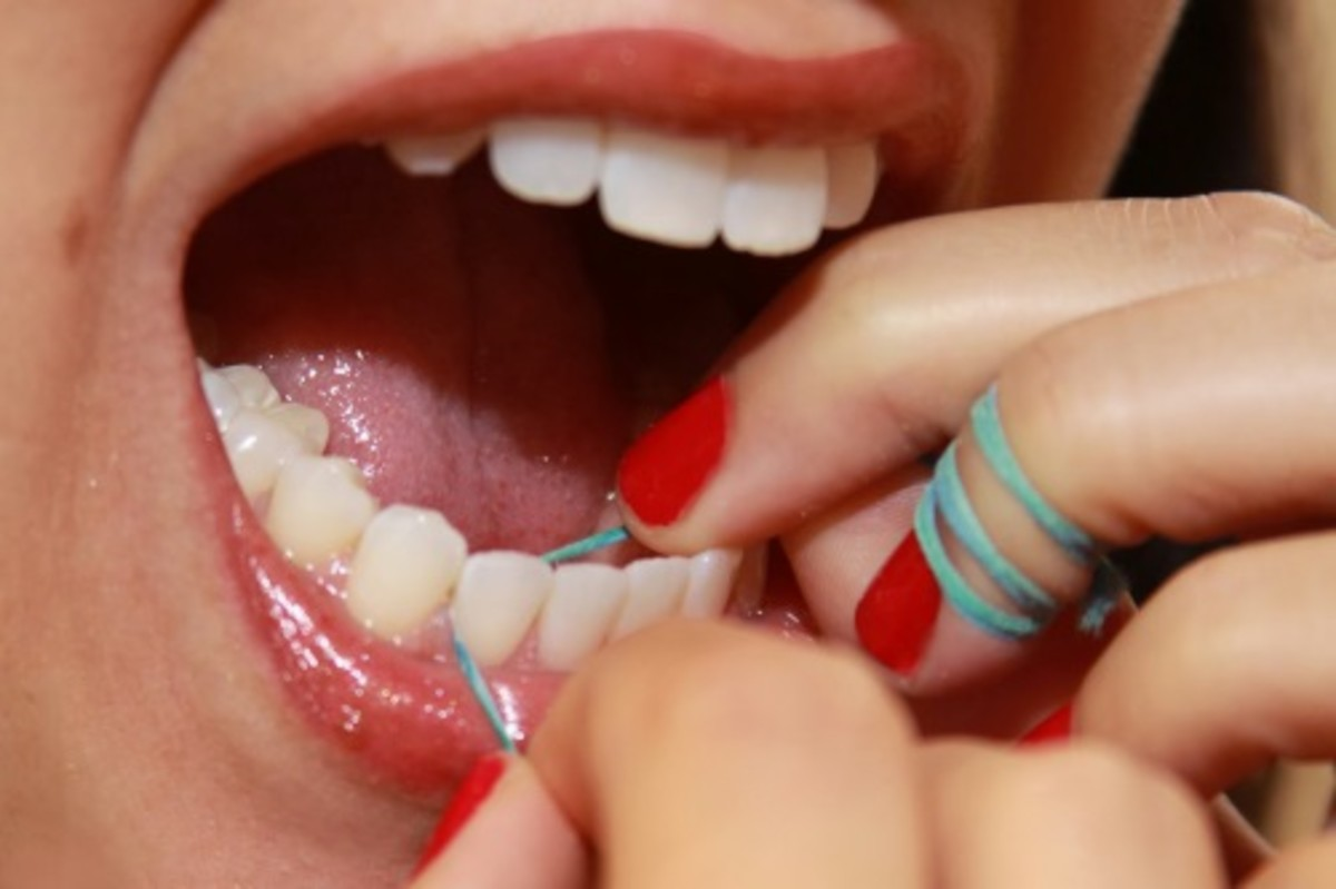 Flossing is more important than brushing.