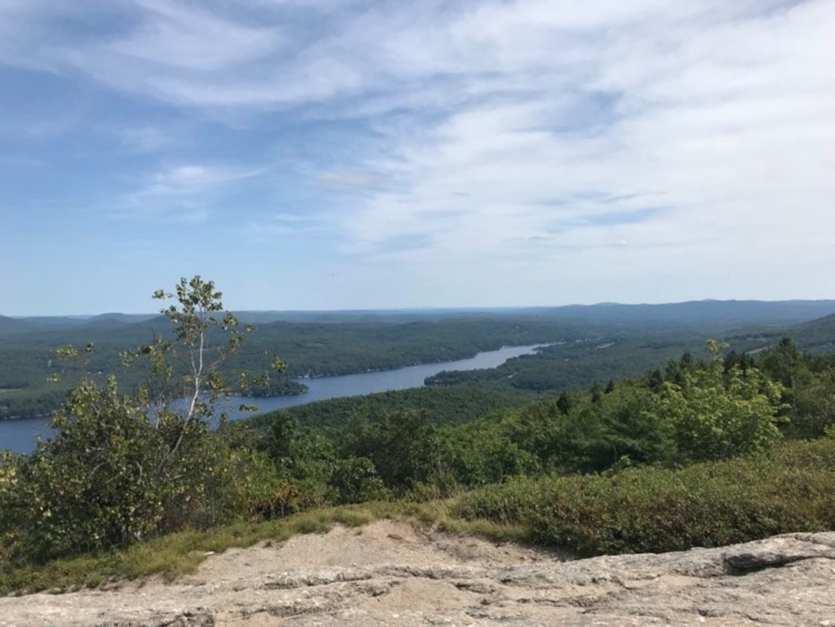 View of the Summit of Mt. Major.