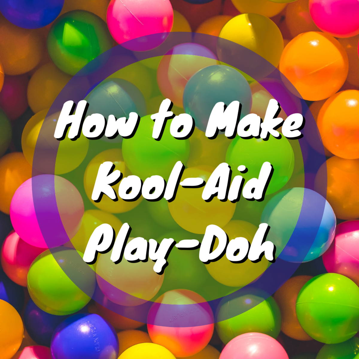Learn how to make play-doh using kool-aid using this simple guide. Kids will love this craft.